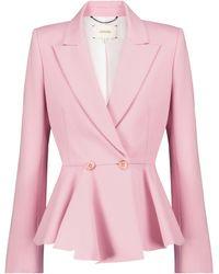 Dorothee Schumacher Exklusiv bei Mytheresa – Blazer Emotional Essense - Pink