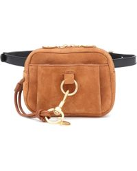 See By Chloé Tony Suede Belt Bag - Brown