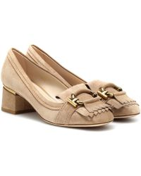 Tod's - Suede Pumps - Lyst