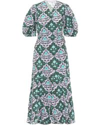 RHODE Exclusive To Mytheresa – Fiona Floral Cotton Maxi Dress - Green