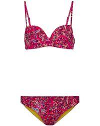 Etro Printed Bikini - Pink