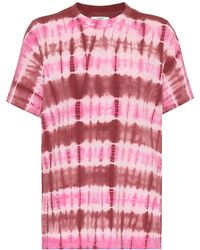 Étoile Isabel Marant T-shirt Dena tie-dye in cotone - Rosa