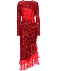 Preen By Thornton Bregazzi - Mae Sequinned Dress - Lyst