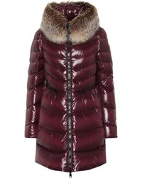 Moncler - Hermifur Quilted Down Coat - Lyst