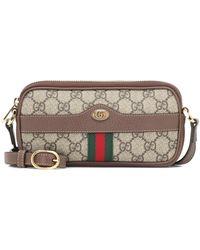 Gucci Ophidia GG Mini Tasche - Natur