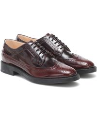 Tod's Leather Brogues - Brown