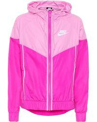 Nike Windrunner Track Jacket - Pink