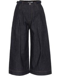 JW Anderson High-rise Wide Jeans - Blue