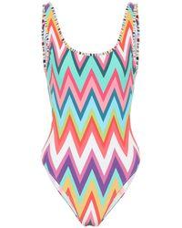 Missoni Zig-zag Swimsuit - Multicolour