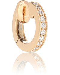 Repossi Berbere 18kt Rose-gold And Diamond Ear Cuff - Metallic