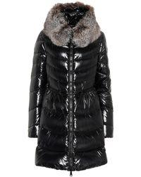 e8cdbdf66 Mirielon Fur-trimmed Down Coat - Black