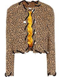 Rejina Pyo Ingrid Cotton Twill Jacket - Multicolour