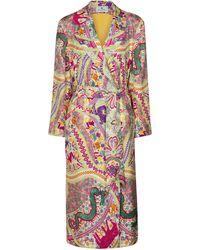 Etro Mantel aus Jacquard - Mehrfarbig
