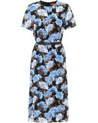 Altuzarra Exclusive To Mytheresa – Coco Floral Silk Midi Dress - Blue