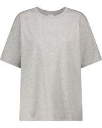 Dries Van Noten T-Shirt aus Baumwolle - Grau
