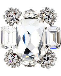Off-White c/o Virgil Abloh - Diana Crystal-embellished Earrings - Lyst
