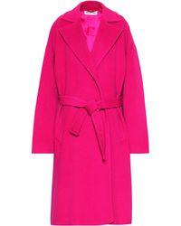 04cba7848a1f Balenciaga - Camel Hair-blend Coat - Lyst