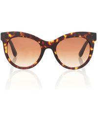 Dolce & Gabbana Occhiali da sole cat-eye - Marrone
