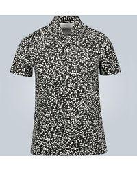 Officine Generale Dario Short-sleeved Shirt - Black