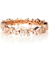 Suzanne Kalan - 18-karat Gold Diamond Ring - Lyst