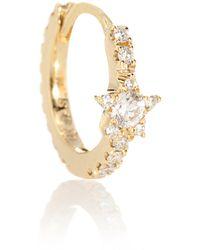 Maria Tash Diamond Star Eternity 18kt Gold Single Earring With Diamonds - Metallic