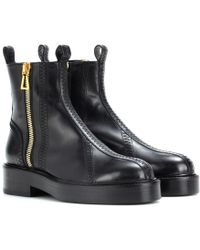 Ellery - Venus Leather Ankle Boots - Lyst