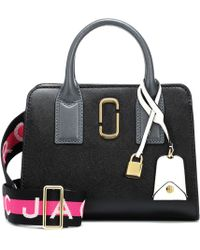 Marc Jacobs - Little Big Shot Leather Tote - Lyst
