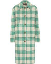 Rejina Pyo Willa Wool Mix Coat - Green