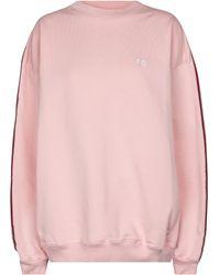 Vetements Oversize Sweatshirt aus Jersey - Pink