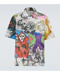 Our Legacy Camicia in misto cotone con stampa - Multicolore