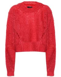 Isabel Marant Pullover in mohair - Rosso