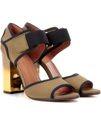 Marni - Leather Sandals - Lyst
