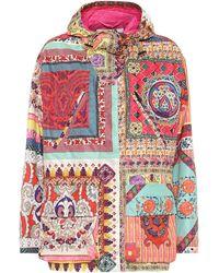 Etro Veste imprimée à capuche - Multicolore