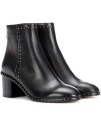 Rag & Bone - Willow Leather Ankle Boots - Lyst