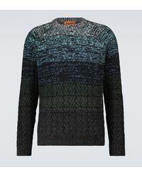 Missoni Pullover girocollo in misto lana - Multicolore