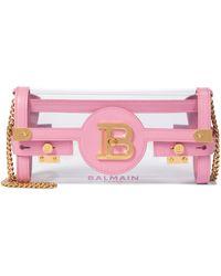 Balmain Schultertasche B-Buzz 23 - Pink