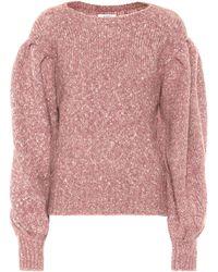 Étoile Isabel Marant Pullover Shaelyn mit Alpakaanteil - Pink