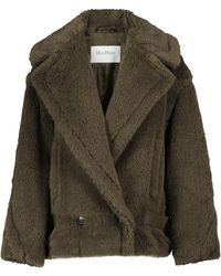 Max Mara Cristin Alpaca, Wool And Silk Jacket - Multicolour
