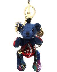 Burberry Thomas Bear Charm - Blue