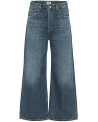 Citizens of Humanity - Jeans Sacha a vita alta cropped - Lyst