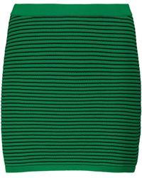 Tropic of C Exclusivo en Mytheresa - falda Sierra a rayas - Verde