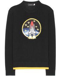 COACH - Rocket Shuttle Embellished Wool Sweater - Lyst