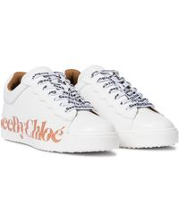 See By Chloé Essie Leather Trainers - White