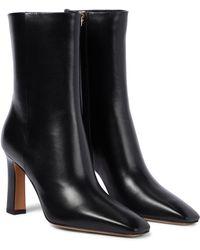 Valentino Garavani Valentino garavani ankle boots rockstud aus leder - Schwarz