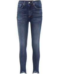 Rag & Bone High-rise Skinny Jeans - Blue