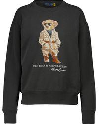 Polo Ralph Lauren Sudadera Safari Polo Bear - Negro