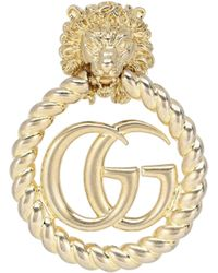 Gucci Einzelner Clip-Ohrring - Mettallic