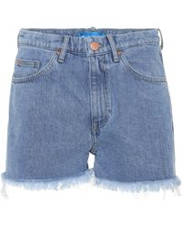M.i.h Jeans - Shorts de jean deshilachados - Lyst