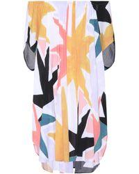Mara Hoffman - Dashiki Printed Off-the-shoulder Dress - Lyst