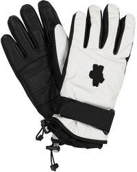 Moncler Genius 3 MONCLER GRENOBLE guantes de esquí - Blanco